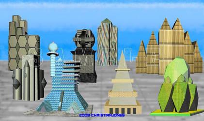 sci fi concepts, designs, etc by konchairkris