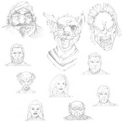 Faces1 by PlanetKhaos