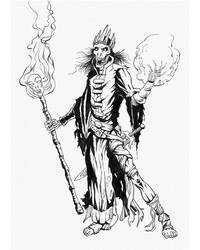Lich-Inked by PlanetKhaos