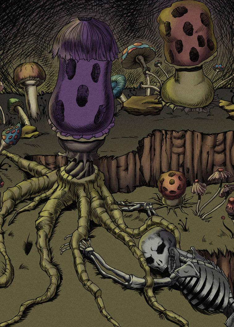 Violet Fungus by PlanetKhaos