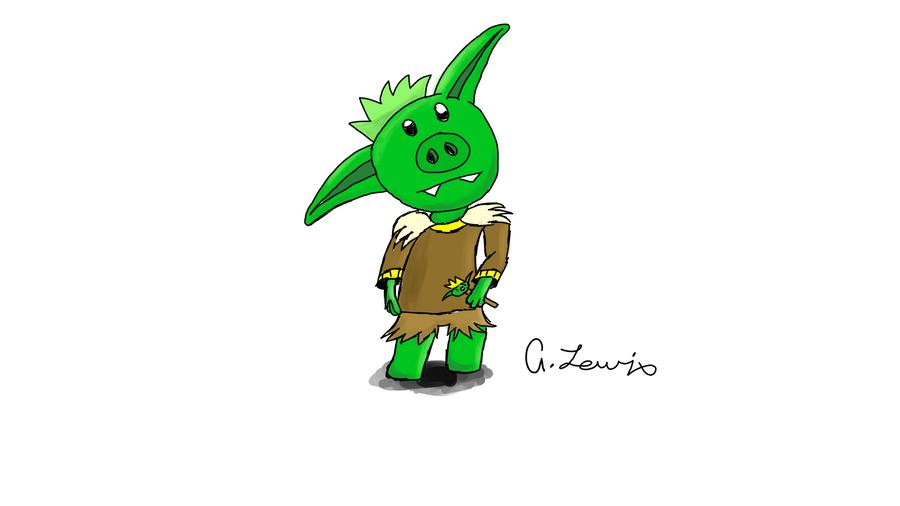 Chibi Goblin by dewy60