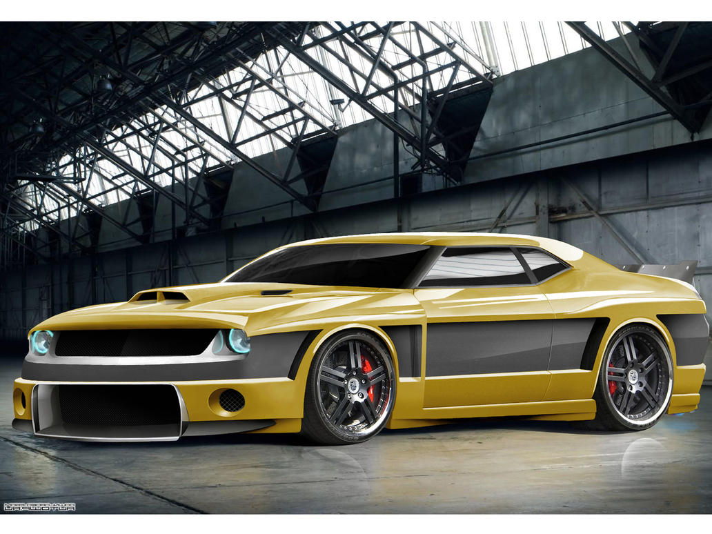 dodge challenger by dem fuzl on deviantart. Cars Review. Best American Auto & Cars Review
