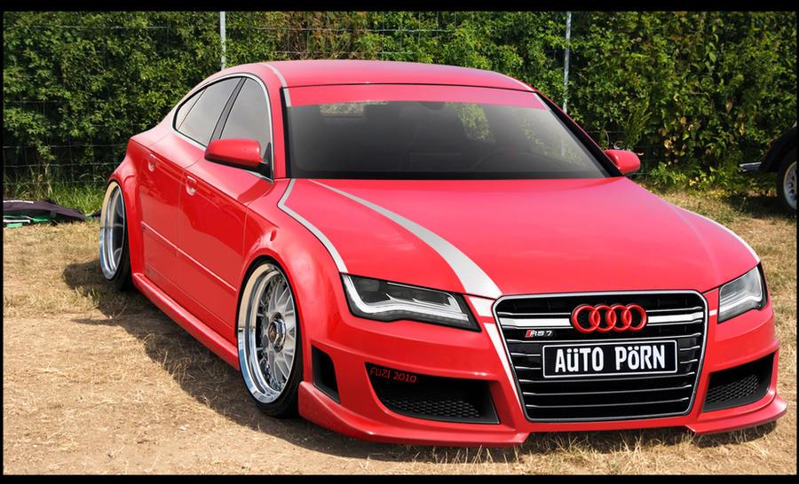 Custom AUDI RS By Demfuzl On DeviantArt - Audi custom