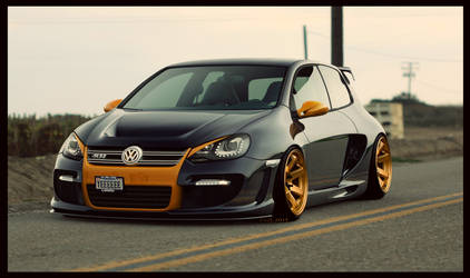 vw golf6 R32 avalanche by dem-fuzl
