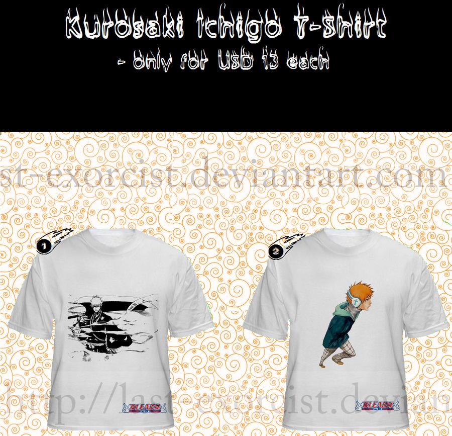 Kurosaki Ichigo T-shirt by Last-Exorcist