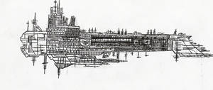 The Battleship Imaro by solarconquest