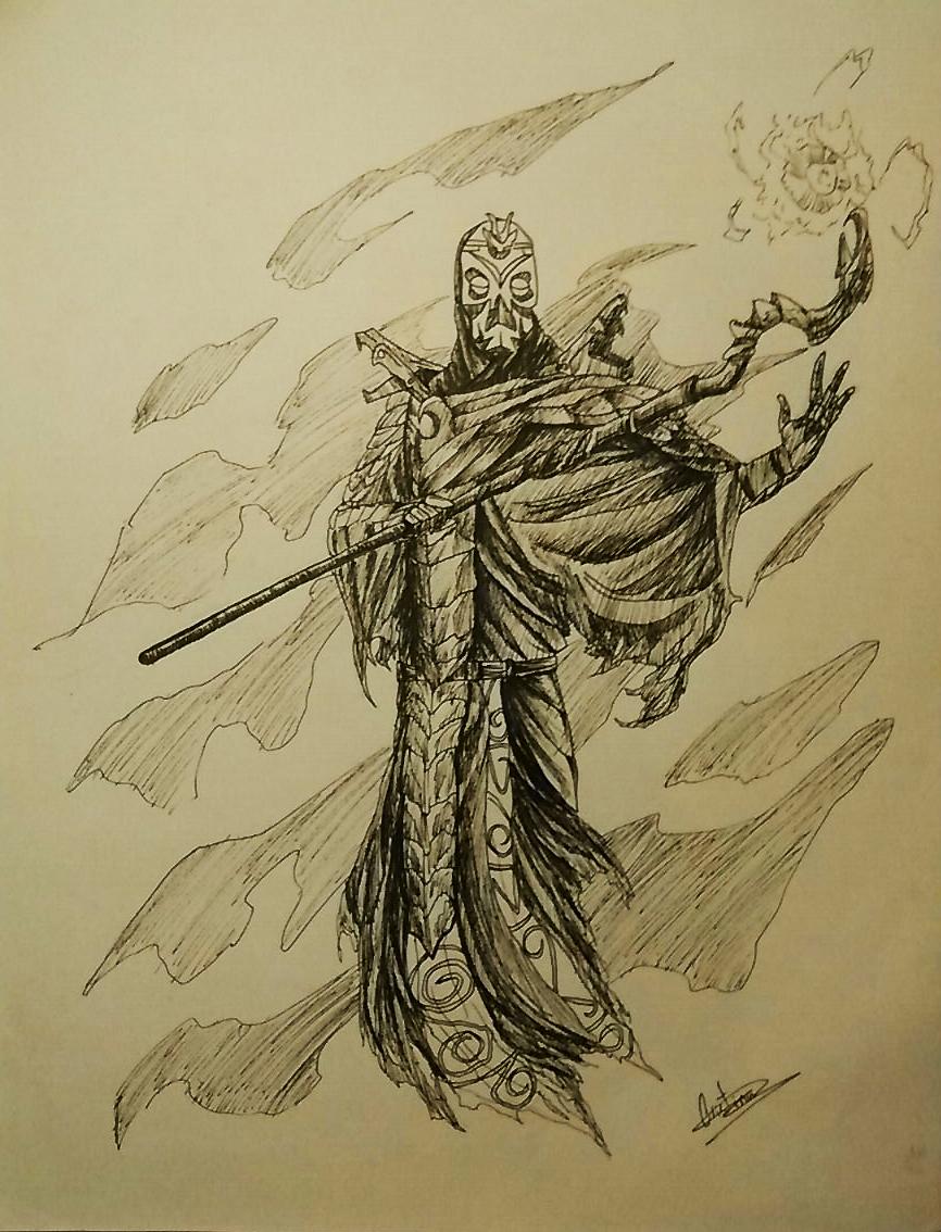 skyrim how to become a dragon priest