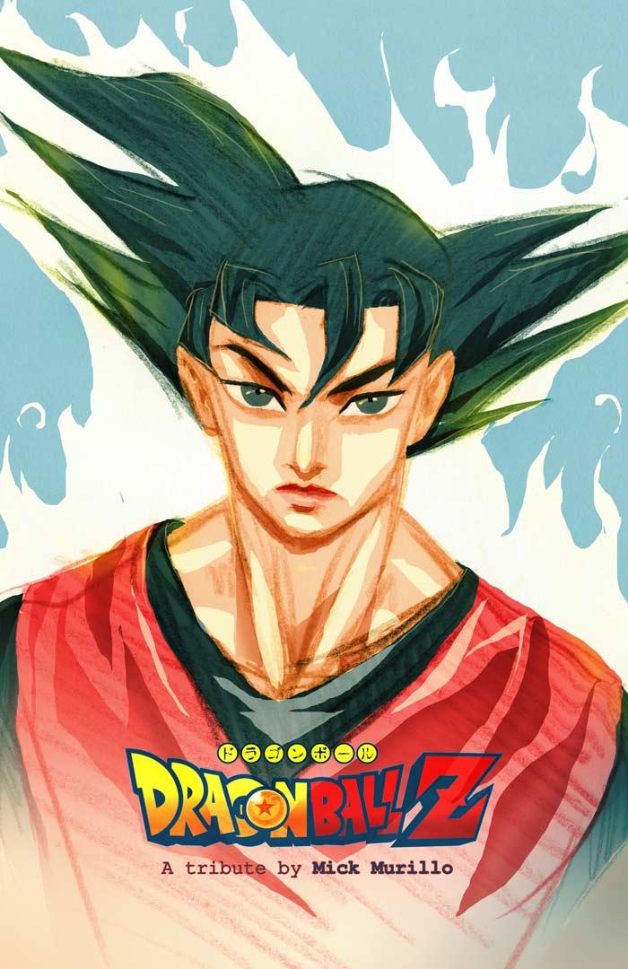 Son Goku from Dragon Ball Z by MickMurillo