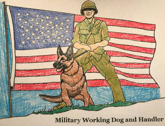 Military GSD by DisneyFangirl01