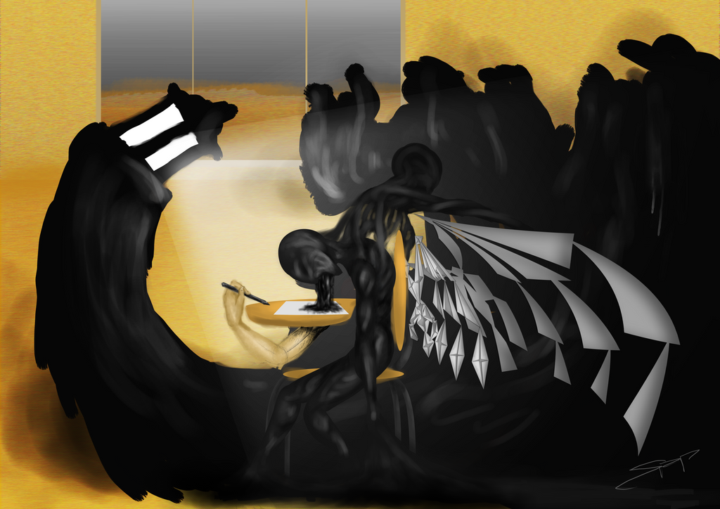 Paper wings by Sapphyriah