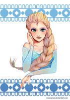 - Elsa - by AquaNoixl