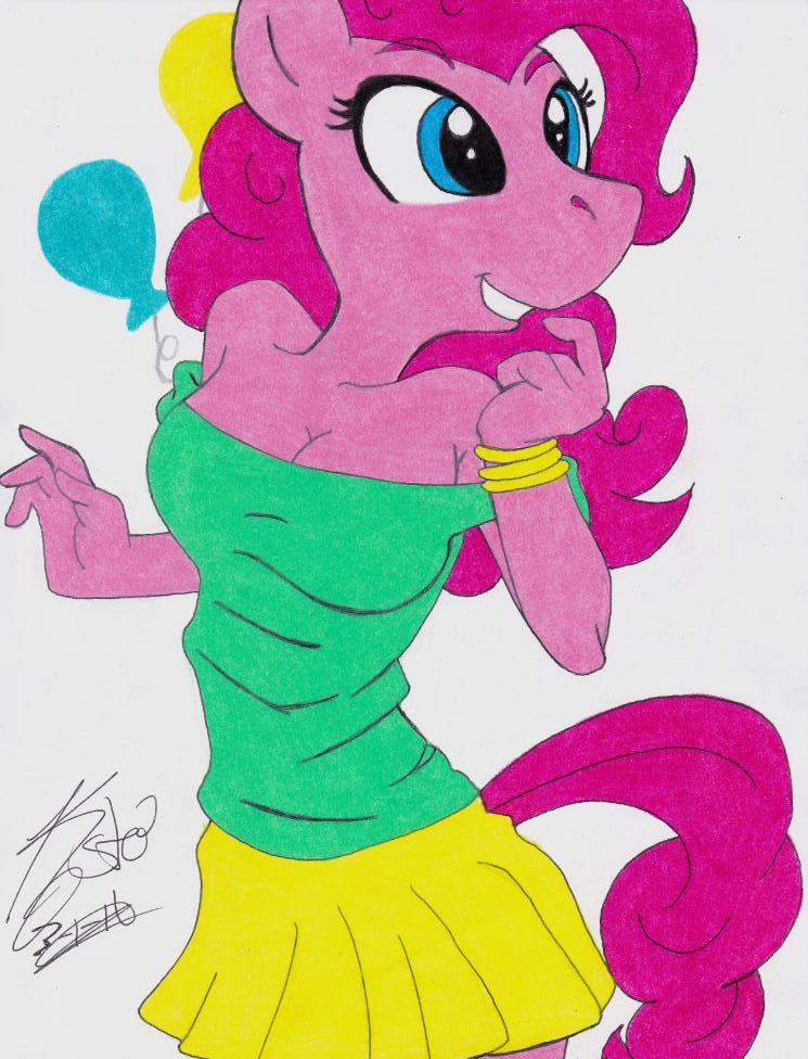 Pinkie pie anthro