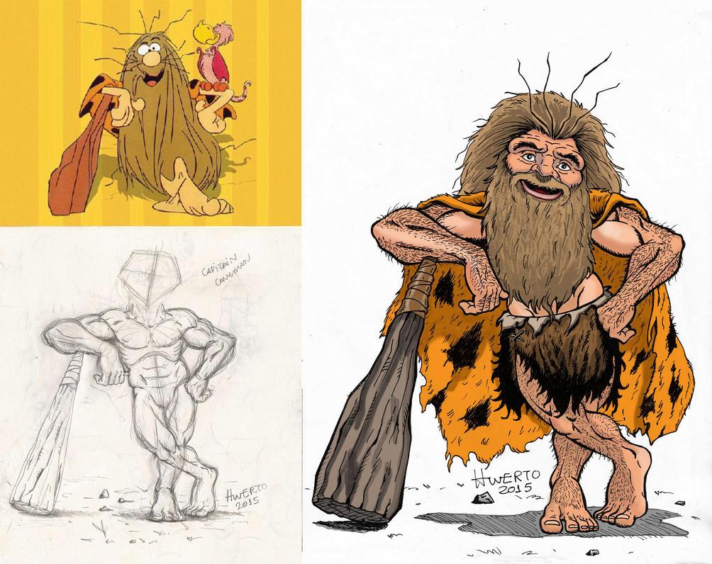 Caveman Cartoon Show : Captain caveman by spectroseven on deviantart