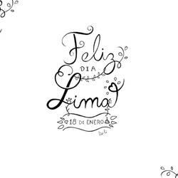 Feliz dia Lima
