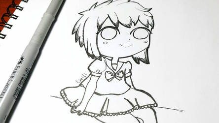 Chibi Anime Girl by Lii07