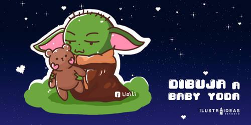Como Dibujar A Baby Yoda