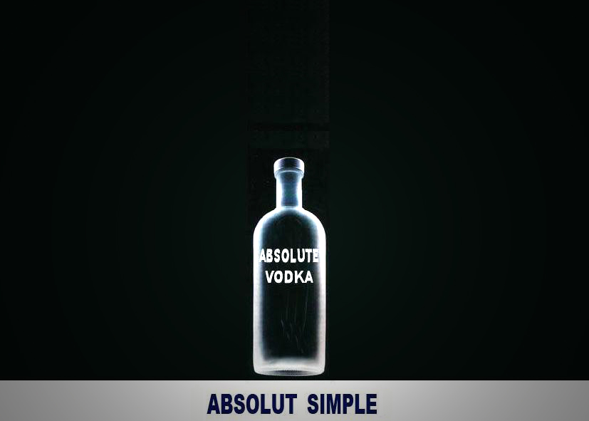 Absolut vodka by shido5142