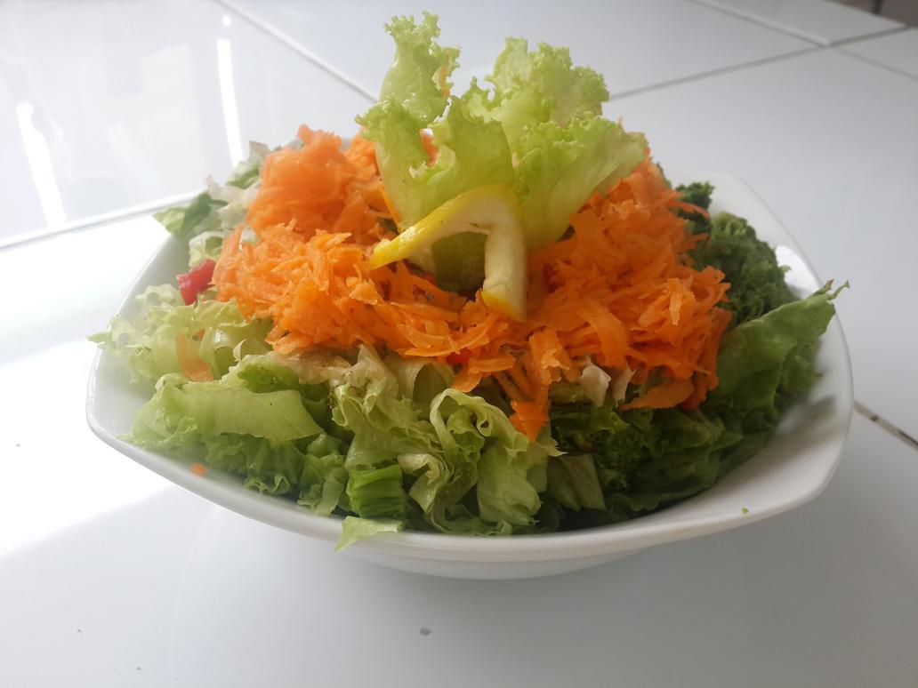 fresh salad by noroxia
