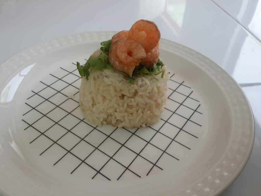 rice whit shrimp by noroxia