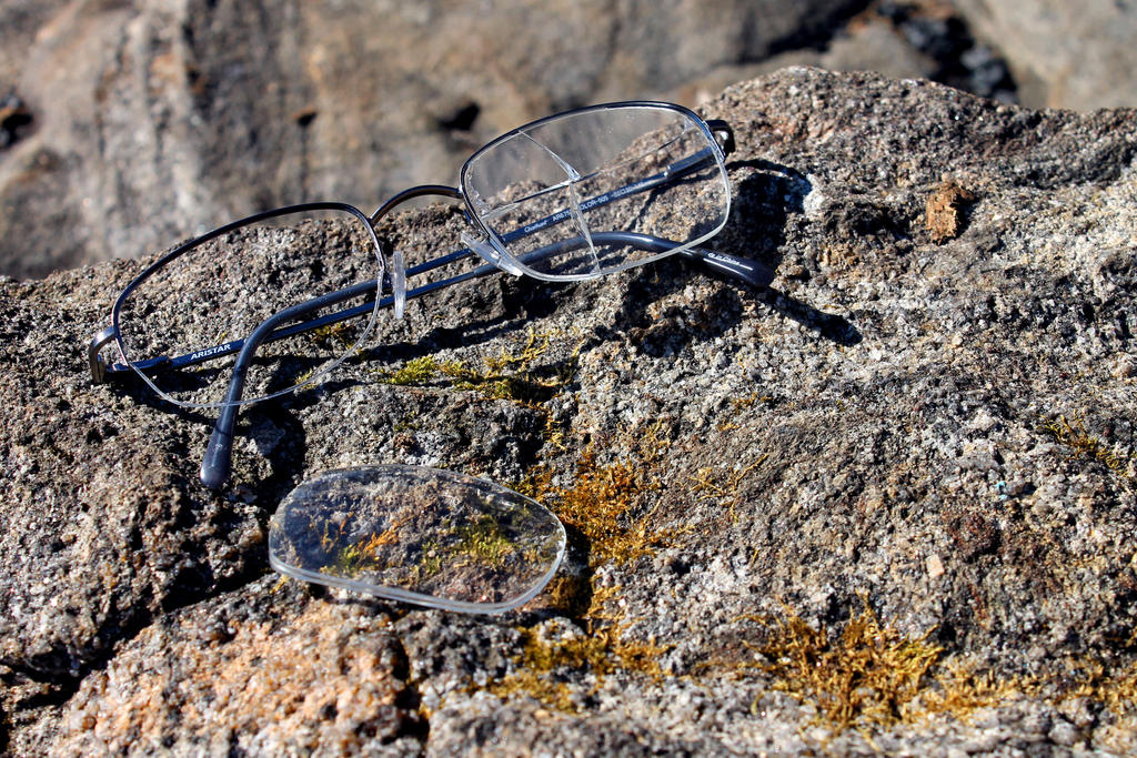 Lost Glasses by Daemare