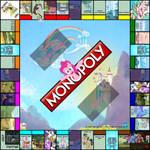 MLP Monopoly Board (WIP finished board art)