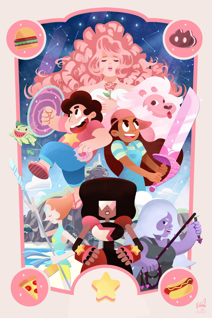 My drawing of Steven Universe ! A cartoon that showcases an epic sense of humor, an open minded vision, gorgeous visuals and loveable characters! <3 >>Please do not use my work or rep...