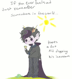 Eridan dropped the icecream by Lalariceball