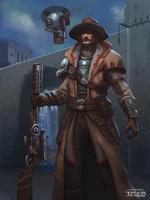 Steampunk ranger by nforio