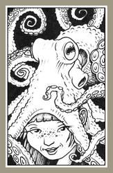 Mini portrait - Octo hat by Rode-Egel