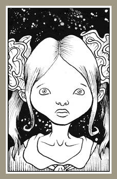 Mini portrait - Doll face