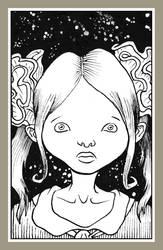 Mini portrait - Doll face by Rode-Egel