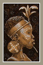 Mini portrait - African girl