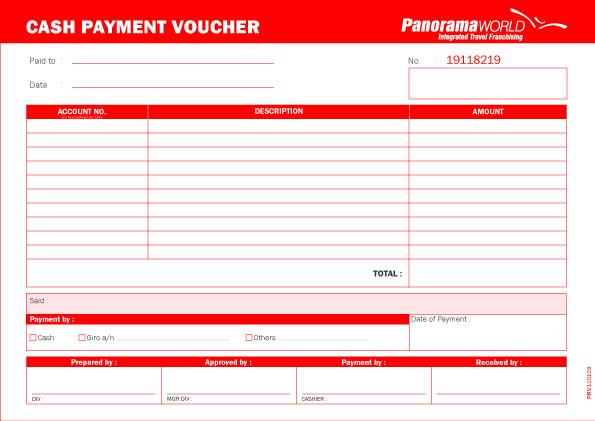 Payment voucher template free