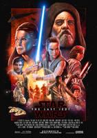 Star Wars: The Last Jedi - Theatrical Poster by WolfgangLeBlanc
