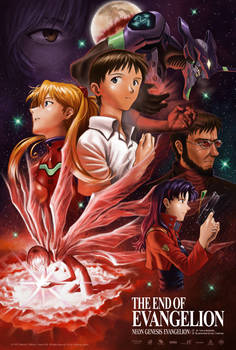The End of Evangelion - Anniversary Fan Poster