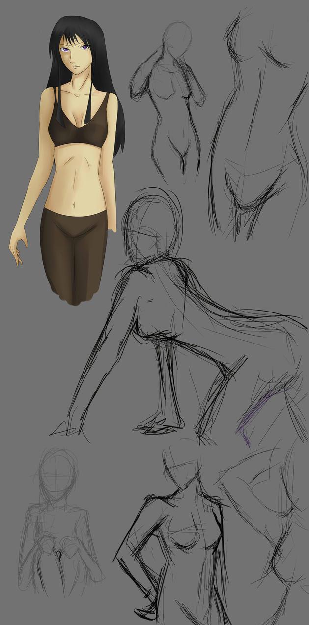 Female Anatomy Studies by ElenaMegan on DeviantArt