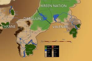 Eberras Darguun, Valenar, and the Kreen Nation by FilKearney