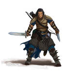 Pathfinder - Valeros The Fighter Study