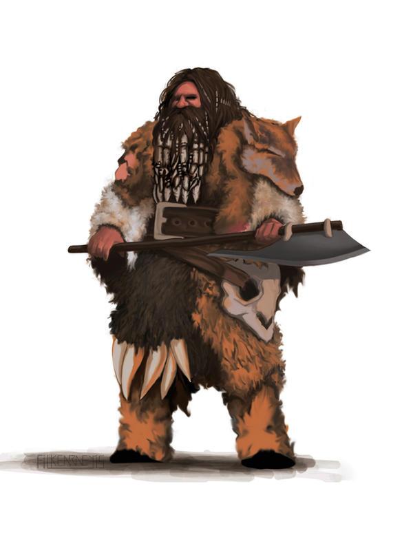 Arcana Blood and Bone - Inoruit Clansman