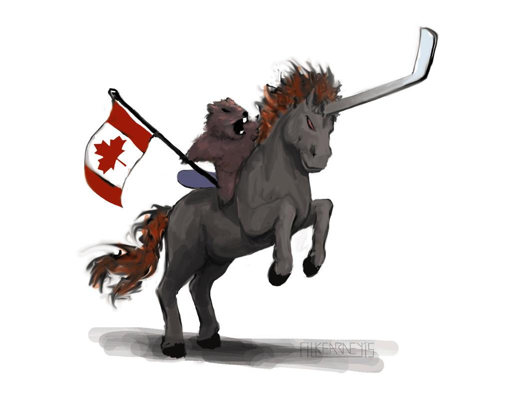 Canada Yes!! - Watcher Appreciation Sketch :)