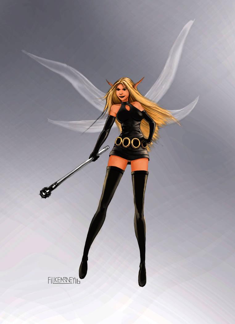 Paul Kidd - Justicar - Escalla the Fairy