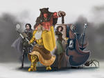 Character Art - Iron Blades - Team