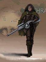 Eberras Campaign - Dhraksis by FilKearney