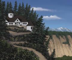 Cliffside Cottage by FilKearney
