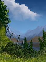 Misty Border by FilKearney