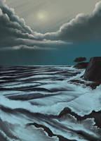 S02e09 Stormy Seascape by FilKearney