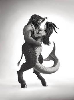 Zodiac - Capricorn and Taurus