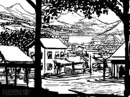 Rustic Township - sketch