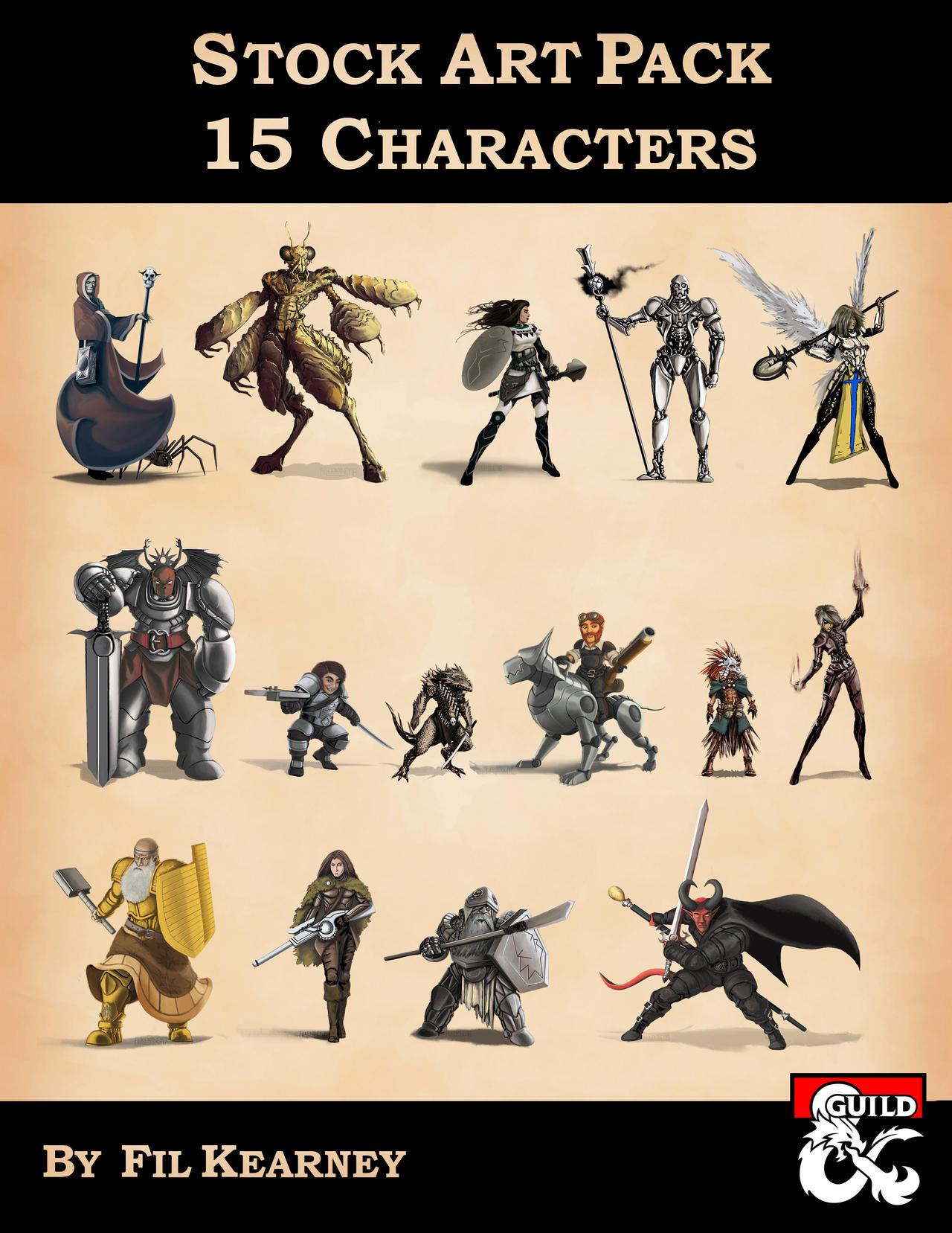 https://www.deviantart.com/filkearney/art/Stock-Art-Pack-15-Characters-Cover-Image-792750796
