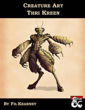 Creature Art - Thri Kreen